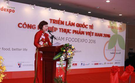 Thu truong Ho Thi Kim Thoa du Trien lam Vietnam Foodexpo 2016 - Anh 2