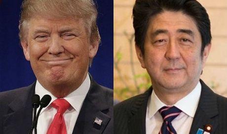 Thu tuong Abe muon xay dung su tin tuong voi ong Donald Trump - Anh 1