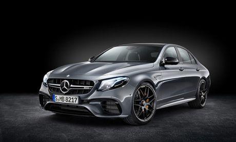 Mercedes E63 AMG 2018 voi cong suat 603 ma luc - Anh 1