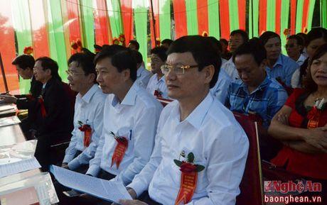 Hoi Son (Anh Son): Don bang cong nhan xa dat chuan nong thon moi - Anh 2