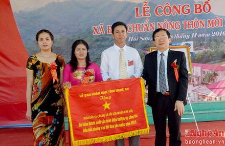 Hoi Son (Anh Son): Don bang cong nhan xa dat chuan nong thon moi - Anh 4