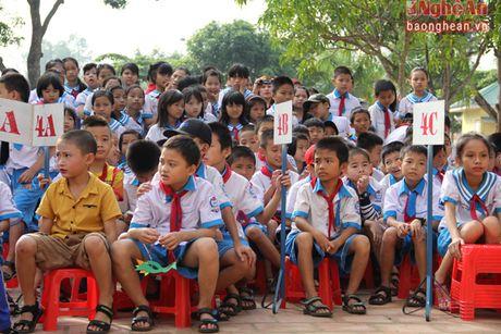 Xem hoc sinh tieu hoc bieu dien thoi trang sinh thai mung 20/11 - Anh 12
