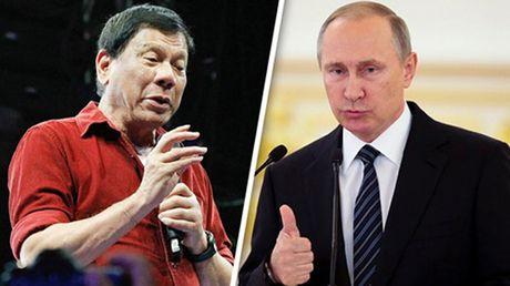 Tong thong Philippines sap hoi dam lan dau voi Putin - Anh 1