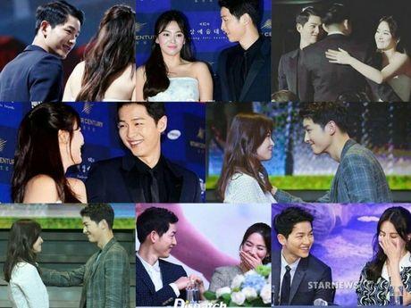 Song Joong Ki - Song Hye Kyo: Xac nhan di, ca hai dang hen ho dung khong? - Anh 1