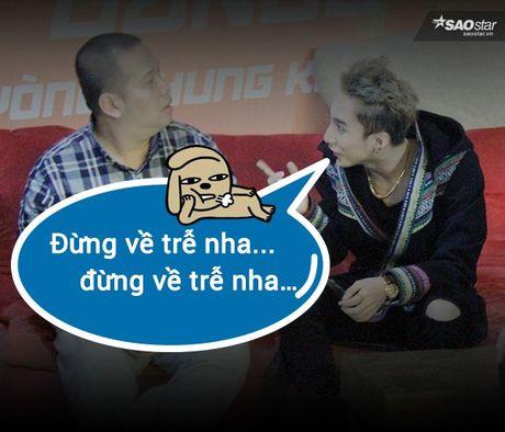 Anh che: Son Tung - Quang Huy da den luc 'chung ta 'het' thuoc ve nhau' - Anh 2