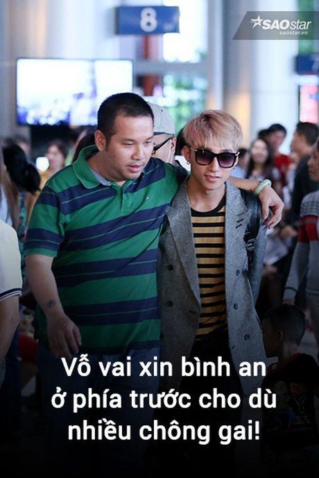 Anh che: Son Tung - Quang Huy da den luc 'chung ta 'het' thuoc ve nhau' - Anh 5
