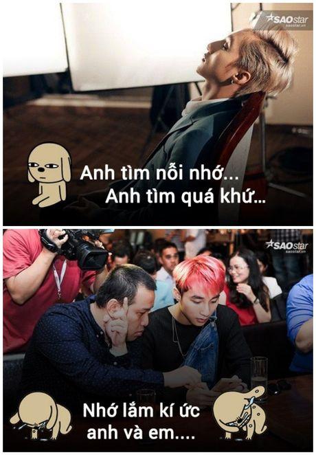 Anh che: Son Tung - Quang Huy da den luc 'chung ta 'het' thuoc ve nhau' - Anh 7