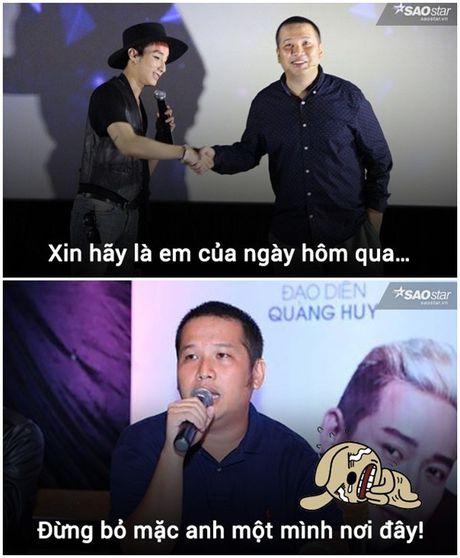 Anh che: Son Tung - Quang Huy da den luc 'chung ta 'het' thuoc ve nhau' - Anh 8