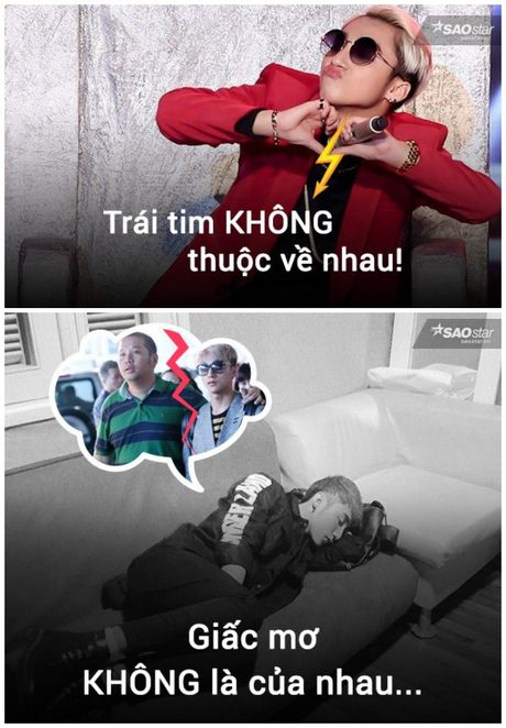 Anh che: Son Tung - Quang Huy da den luc 'chung ta 'het' thuoc ve nhau' - Anh 9