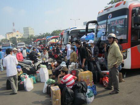 Xe do tang gia ve 20-60% trong dip Tet Dinh Dau 2017 - Anh 1