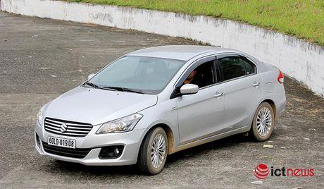 So sanh hai tan binh Suzuki Ciaz va Toyota Vios 1.5E CVT tai Viet Nam - Anh 3
