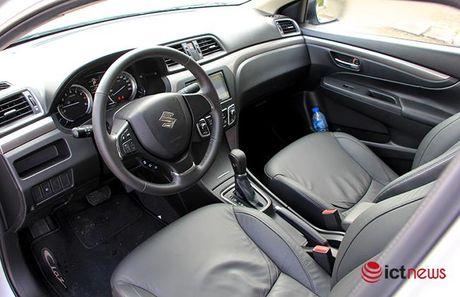 So sanh hai tan binh Suzuki Ciaz va Toyota Vios 1.5E CVT tai Viet Nam - Anh 5