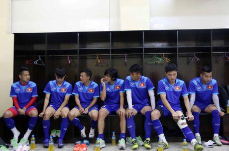 HLV Huu Thang loai Tuan Anh va Quang Huy - Anh 2