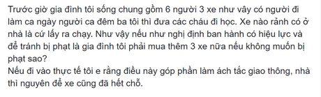 'Nen xu phat xe khong chinh chu som hon' - Anh 1