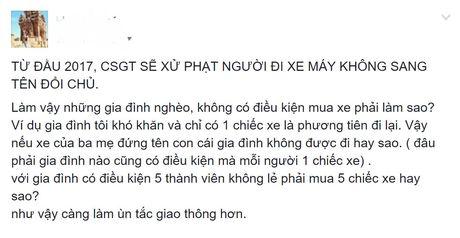 'Nen xu phat xe khong chinh chu som hon' - Anh 2
