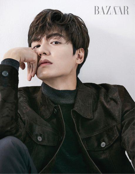 Lee Min Ho dien trai tren tap chi thang 12 - Anh 3