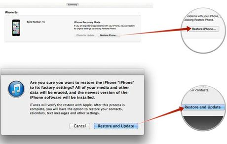 Cach sua loi iPhone khong nhan SIM sau khi Update hoac Restore - Anh 6