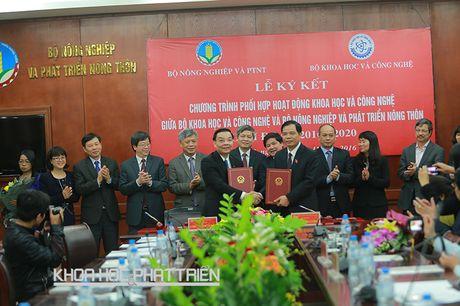 Chuong trinh phoi hop giua nganh KH&CN va nong nghiep: Tap trung vao cac san pham chu luc - Anh 1