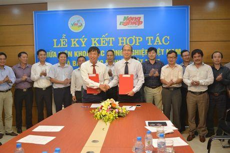 Ky ket hop tac giua Vien Khoa hoc Nong nghiep Viet Nam va Bao Nong nghiep Viet Nam - Anh 1