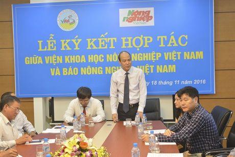 Ky ket hop tac giua Vien Khoa hoc Nong nghiep Viet Nam va Bao Nong nghiep Viet Nam - Anh 2