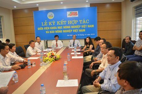 Ky ket hop tac giua Vien Khoa hoc Nong nghiep Viet Nam va Bao Nong nghiep Viet Nam - Anh 4