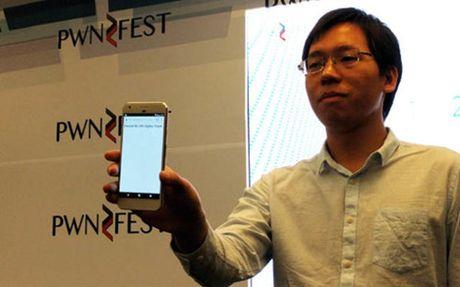 Google Pixel bi hack trong vong 1 phut - Anh 1