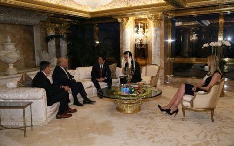 Thu tuong Nhat Ban hoi dam voi Tong thong My moi dac cu Donald Trump - Anh 1