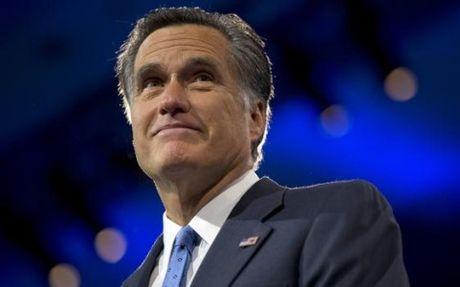 Tong thong dac cu Trump co the tien cu Mitt Romney lam Ngoai truong My - Anh 1