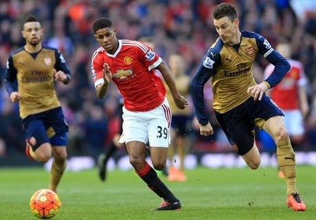 Video xem truc tiep tran 'dai chien' Manchester United - Arsenal - Anh 1