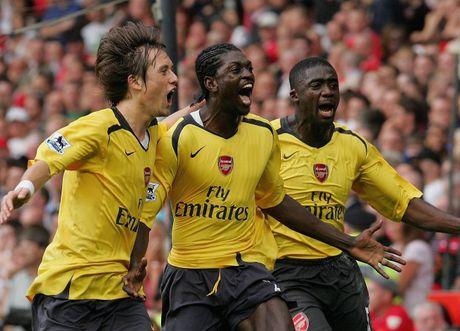Lan cuoi Arsenal danh bai MU o Old Trafford la khi nao? - Anh 1