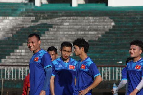 DTQG Viet Nam vui dua truoc tran mo man AFF Cup 2016 - Anh 11