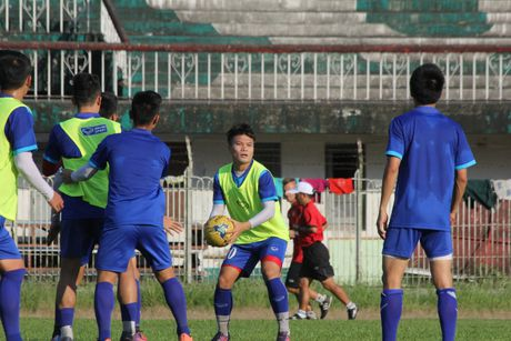 DTQG Viet Nam vui dua truoc tran mo man AFF Cup 2016 - Anh 8