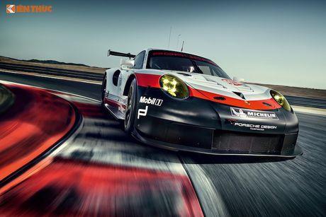 Sieu xe dua 'khung' Porsche 911 RSR thong tri duong dua 2017 - Anh 1