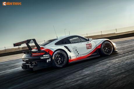 Sieu xe dua 'khung' Porsche 911 RSR thong tri duong dua 2017 - Anh 3