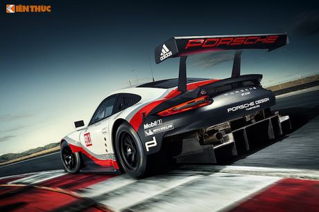 Sieu xe dua 'khung' Porsche 911 RSR thong tri duong dua 2017 - Anh 5