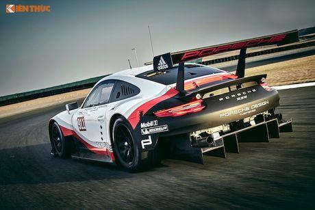 Sieu xe dua 'khung' Porsche 911 RSR thong tri duong dua 2017 - Anh 9
