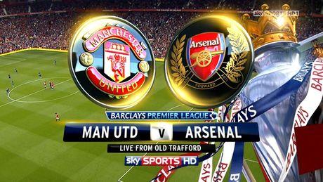 Lich truc tiep vong 12 Ngoai hang Anh: Hoi hop cho dai chien Man Utd – Arsenal - Anh 1