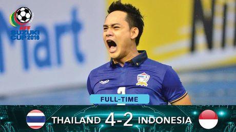Dangda lap hat-trick, Thai Lan thang dam Indonesia - Anh 1