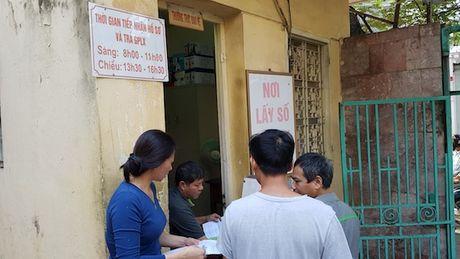 Nguoi dan Ha Noi do don di doi bang lai xe - Anh 2