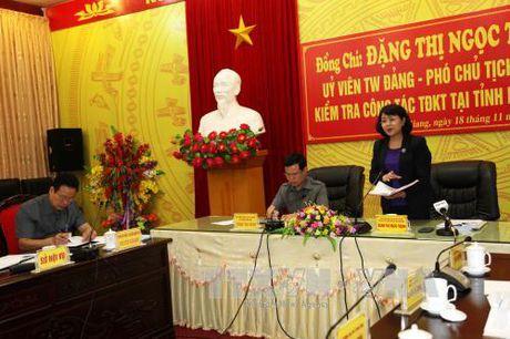 Pho Chu tich nuoc du Ngay hoi Dai doan ket tai Ha Giang - Anh 1