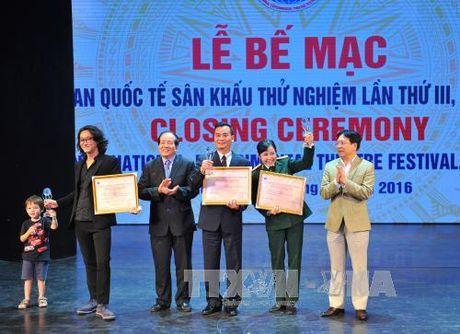 Viet Nam gianh 17 Huy chuong Vang tai Lien hoan Quoc te San khau thu nghiem - Anh 1