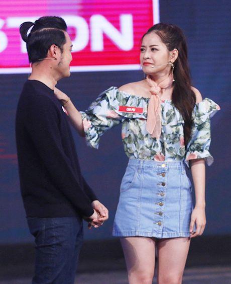 Chi Pu nhiet tinh ca cuoc de Quang Vinh the hien ban linh dan ong - Anh 3