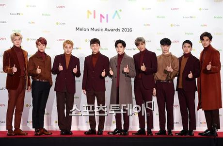 Melon Music Awards 2016: Dan idol khoe sac tren tham do - Anh 20