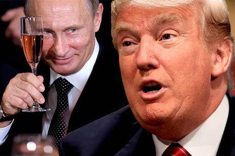 Tranh biem hoa Putin, Trump va Le Pen len bia bao Anh - Anh 2