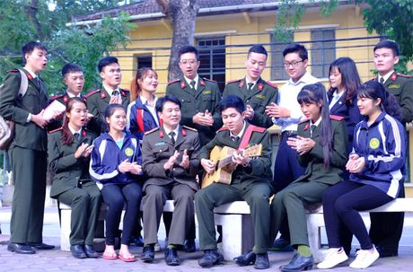 'Khoanh khac thay tro' gian di cua Hoc vien An ninh nhan dan - Anh 2