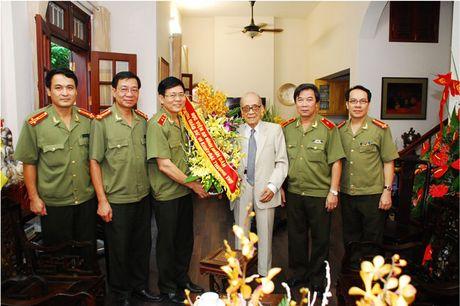 'Khoanh khac thay tro' gian di cua Hoc vien An ninh nhan dan - Anh 3