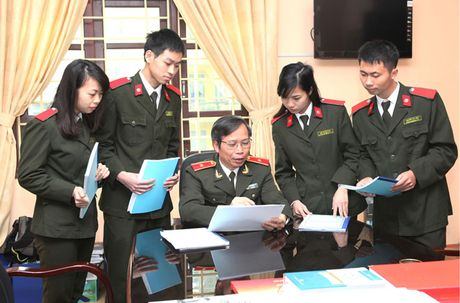 'Khoanh khac thay tro' gian di cua Hoc vien An ninh nhan dan - Anh 4
