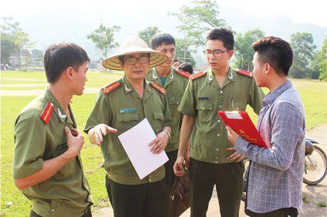 'Khoanh khac thay tro' gian di cua Hoc vien An ninh nhan dan - Anh 5