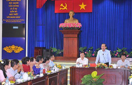 Pho Thu tuong Thuong truc Truong Hoa Binh gap mat cuu can bo MTTQ TP Ho Chi Minh - Anh 3