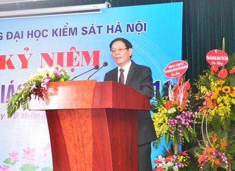Truong Dai hoc Kiem sat Ha Noi ky niem ngay Nha giao Viet Nam - Anh 1